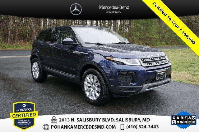 2018 Land Rover Range Rover Evoque SE ** Pohanka Certified 10 year / 100,000 ** Salisbury MD