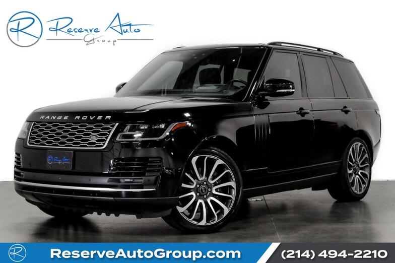2018 Land Rover Range Rover HSE Autobiography Wheel Pkg BlackOut Pkg VisionAssist The Colony TX