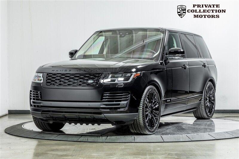 2018_Land Rover_Range Rover_Long Wheel Base One Owner Blackout Pkg_ Costa Mesa CA