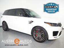 Land Rover Range Rover Sport 5.0 Supercharged Dynamic *VISION ASSIST PKG, CLIMATE COMFORT PACK, DRIVE PRO PKG, NAVIGATION, PANORAMA MOONROOF, LEATHER, CLIMATE SEATS, MERIDIAN AUDIO, BLUETOOTH PHONE & AUDIO 2018