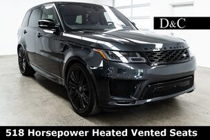 2018 Land Rover Range Rover Sport 5.0L V8 Supercharged Autobiography 518 Horsepower