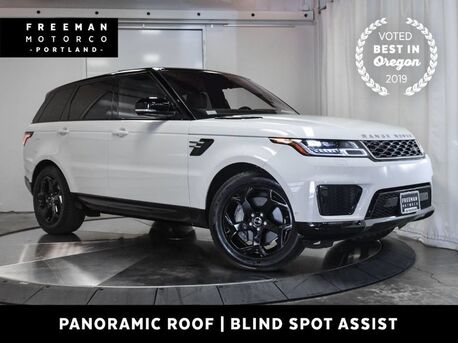 2018_Land Rover_Range Rover Sport_HSE 4X4 Blind Spot Assist Pano Heated Seats Nav_ Portland OR