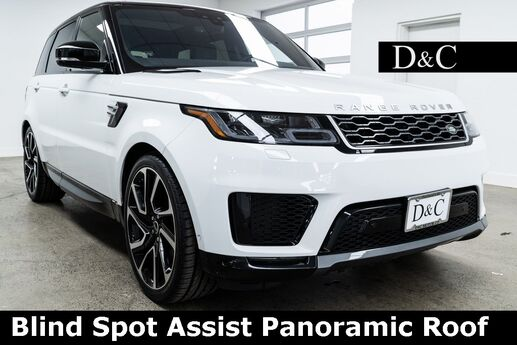 2018 Land Rover Range Rover Sport HSE Blind Spot Assist Panoramic Roof Portland OR