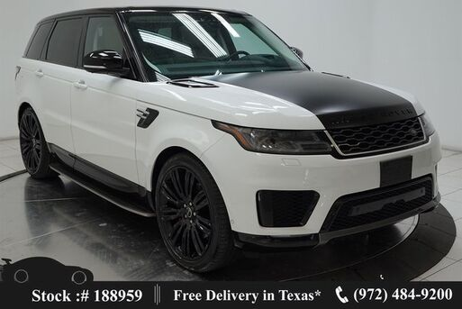 2018_Land Rover_Range Rover Sport_HSE NAV,CAM,PANO,4-CLMT STS,BLIND SPOT,22IN WLS_ Plano TX