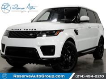 2018 Land Rover Range Rover Sport HSE Pano Roof Meridian Sound Tuxedo Pkg