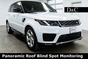 2018_Land Rover_Range Rover Sport_HSE Panoramic Roof Blind Spot Monitoring_ Portland OR