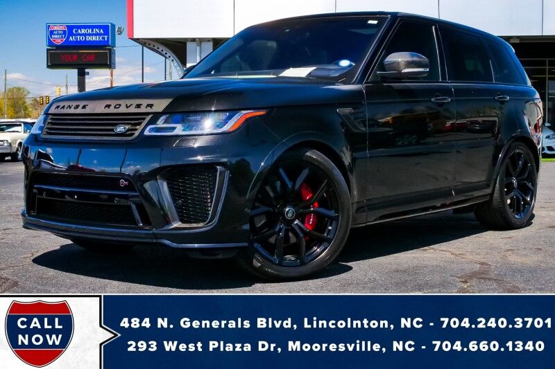 2018 Land Rover Range Rover Sport SVR 4X4 *1-Owner*3M*Carbon Fiber*Heated Seats*