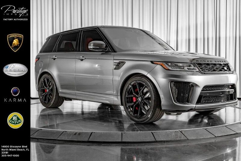 2018_Land Rover_Range Rover Sport_SVR_ North Miami Beach FL