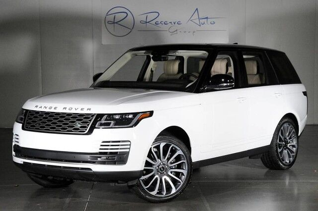 2018 Land Rover Range Rover Supercharged Driver Condition Monitor Autobiography Whls Prem Audio The Colony TX