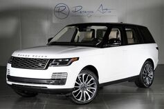 2018 Land Rover Range Rover Supercharged Driver Condition Monitor Autobiography Whls Prem Audio