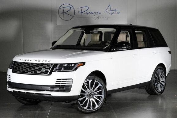 2018_Land Rover_Range Rover_Supercharged Driver & Vision Assist Autobiography Whls Prem Audio_ The Colony TX