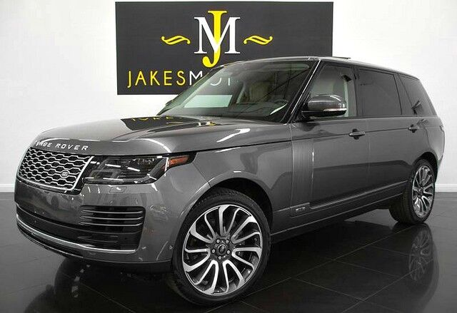 2018 Land Rover Range Rover Supercharged LWB ($122,421 MSRP) *LONG WHEEL BASE* San Diego CA