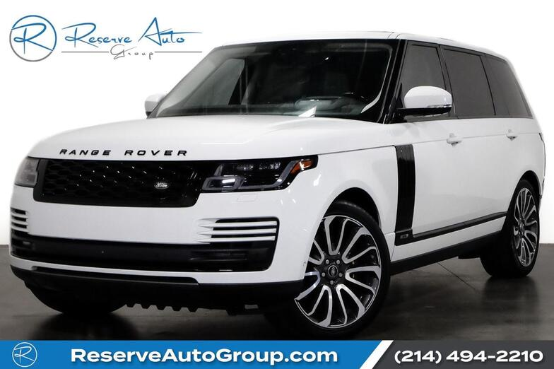 2018 Land Rover Range Rover Supercharged LWB Autobiography Whls BlackOut Pkg The Colony TX