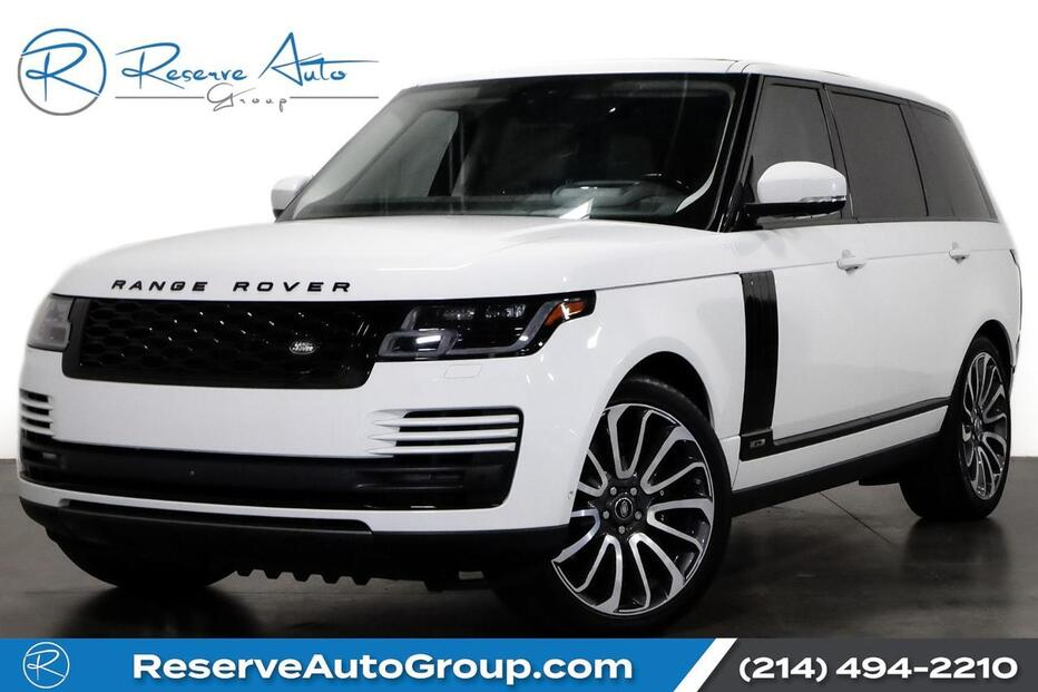 2018_Land Rover_Range Rover_Supercharged LWB Autobiography Whls BlackOut Pkg_ The Colony TX