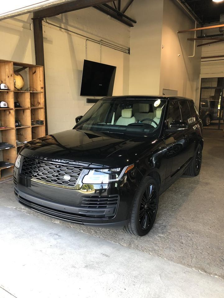 2018 Land Rover Range Rover V8 Supercharged MSRP $126,323