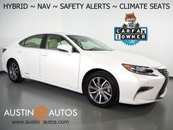 2018_Lexus_ES 300h Hybrid_*NAVIGATION, COLLISION ALERT w/BRAKING, BLIND SPOT & LANE DEPARTURE ALERT, ADAPTIVE CRUISE, BACKUP-CAMERA, MOONROOF, CLIMATE SEATS, BLUETOOTH PHONE & AUDIO_ Round Rock TX