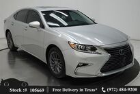 Lexus ES 350 CAM,SUNROOF,CLMT STS,BLIND SPOT,17IN WLS 2018