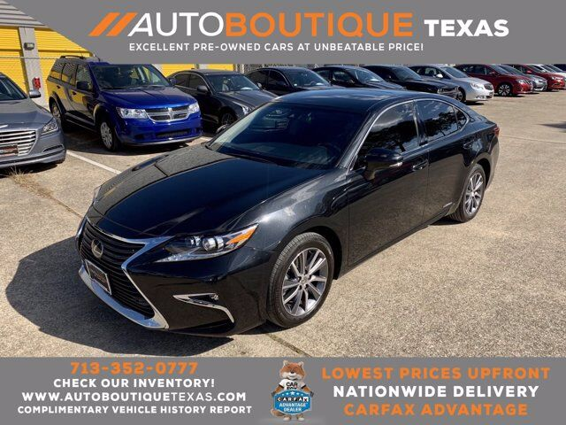 2018 Lexus ES ES 300h Houston TX
