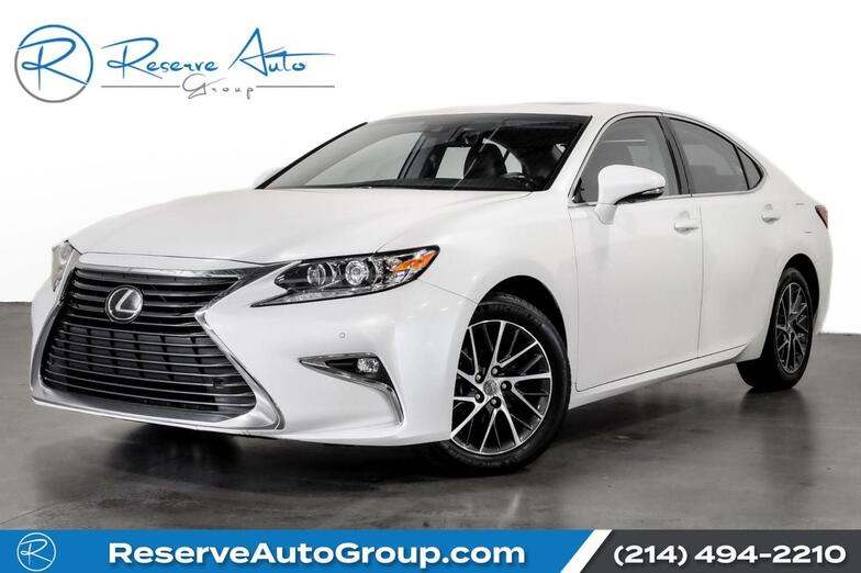 2018 Lexus ES ES 350 AdaptiveCruise Moonroof Navigation Htd Seats The Colony TX