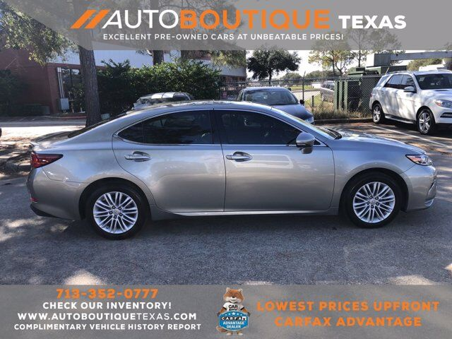 2018 Lexus ES ES 350 Houston TX