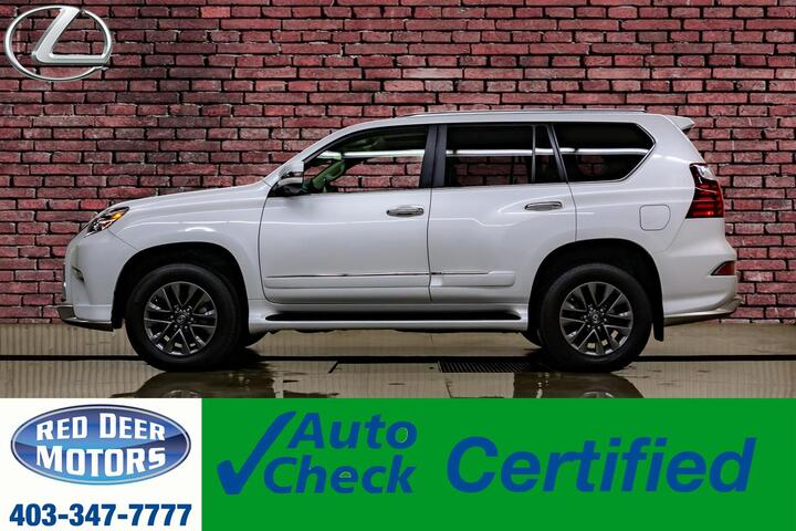 2018 Lexus GX460 AWD Executive Leather Roof Nav DVD Red Deer AB