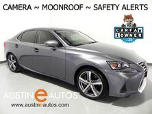 Lexus IS 300 *BLIND SPOT & LANE DEPARTURE ALERT, COLLISION ALERT w/AUTO BRAKING, ADAPTIVE CRUISE, BACKUP-CAMERA, MOONROOF, CLIMATE SEATS, INTUITIVE PARK ASSIST, BLUETOOTH PHONE & AUDIO 2018