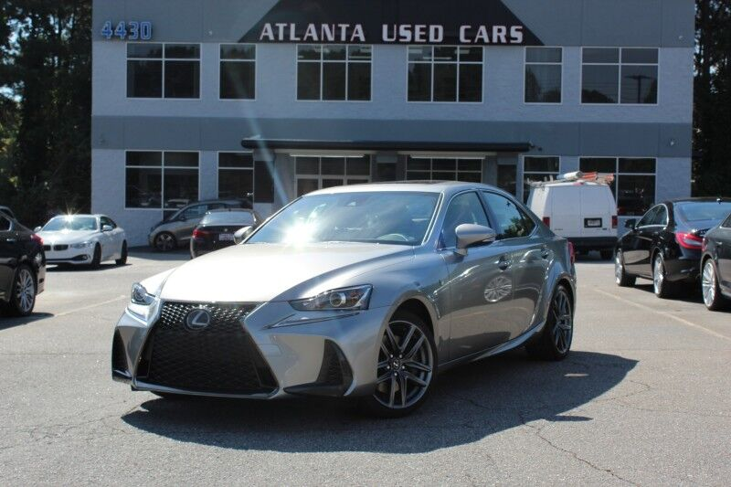 2018 Lexus IS 300 F Sport w/Red Leather Lilburn GA