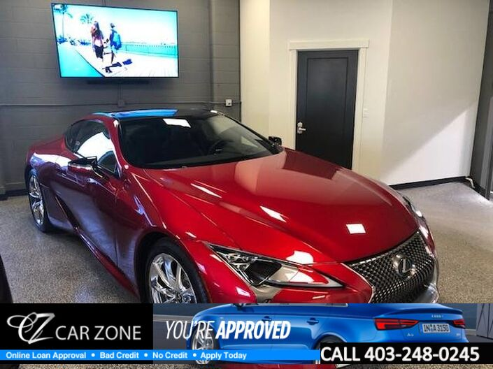2018 Lexus LC500 Like New, Mint Condition Calgary AB
