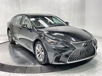 Lexus LS 500 NAV,CAM,SUNROOF,HTD STS,BLIND SPOT,19IN WHLS 2018