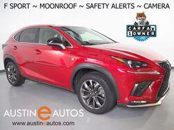 2018_Lexus_NX 300 F Sport_*BLIND SPOT & LANE DEPARTURE ALERT, COLLISION ALERT w/BRAKING, ADAPTIVE CRUISE, BACKUP-CAMERA, SCOUT GPS, MOONROOF, CLIMATE SEATS, POWER LIFTGATE, BLUETOOTH_ Round Rock TX