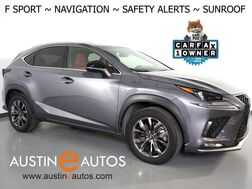 2018_Lexus_NX 300 F Sport_*NAVIGATION, COLLISION ALERT w/BRAKING, BLIND SPOT & LANE DEPARTURE ALERT, ADAPTIVE CRUISE, BACKUP-CAMERA, MOONROOF, CLIMATE SEATS, POWER LIFTGATE, BLUETOOTH_ Round Rock TX