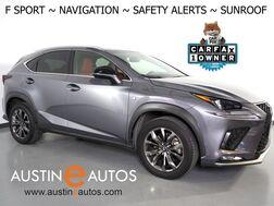 2018_Lexus_NX 300 F Sport_*NAVIGATION, COLLISION ALERT w/BRAKING, BLIND SPOT & LANE DEPARTURE ALERT, ADAPTIVE CRUISE, BACKUP-CAMERA, MOONROOF, CLIMATE SEATS, POWER LIFTGATE, BLUETOOTH_ Round Rock TX