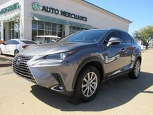 2018_Lexus_NX 300_FWD APPLE CAR PLAY, SUNROOF, HEATED/COOLED SEATS, POWER LIFTGATE, BLIND SPOT ASSIST, BACKUP CAM,_ Plano TX