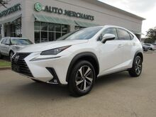 2018_Lexus_NX 300_FWD RED LEATHER, NAVIGATION, SUNROOF, BACKUP CAM, BLUETOOTH, HEATED STEERING WHEEL,_ Plano TX