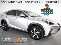 2018_Lexus_NX 300_*NAVIGATION, COLLISION ALERT w/BRAKING, BLIND SPOT & LANE DEPARTURE ALERT, ADAPTIVE CRUISE, BACKUP-CAMERA, MOONROOF, CLIMATE SEATS, POWER LIFTGATE, BLUETOOTH_ Round Rock TX