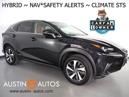 2018_Lexus_NX 300h AWD Hybrid_*NAVIGATION, LANE DEPARTURE & BLIND SPOT ALERT, COLLISION ALERT w/BRAKING, BACKP-CAMERA, ADAPTIVE CRUISE, MOONROOF, CLIMATE SEATS, POWER LIFTGATE, BLUETOOTH_ Round Rock TX