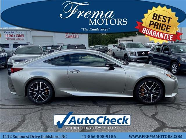 2018 Lexus RC 350 Base Rear-wheel Drive Coupe Goldsboro NC
