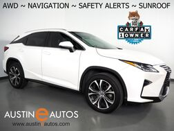 2018_Lexus_RX 350 AWD_*NAVIGATION, BLIND SPOT & LANE DEPARTURE ALERT, COLLISION ALERT, ADAPTIVE CRUISE, CAMERA, MOONROOF, LEATHER, CLIMATE SEATS, BLUETOOTH PHONE & AUDIO_ Round Rock TX