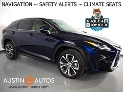 2018_Lexus_RX 350_*NAVIGATION, BLIND SPOT & LANE DEPARTURE ALERT, COLLISION ALERT, ADAPTIVE CRUISE, BACKUP-CAMERA, MOONROOF, LEATHER, CLIMATE SEATS, POWER LIFTGATE, BLUETOOTH_ Round Rock TX