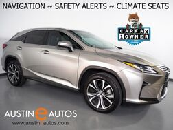 2018_Lexus_RX 350_*NAVIGATION, BLIND SPOT & LANE DEPARTURE ALERT, COLLISION ALERT, ADAPTIVE CRUISE, CAMERA, MOONROOF, LEATHER, CLIMATE SEATS, POWER LIFTGATE, BLUETOOTH_ Round Rock TX