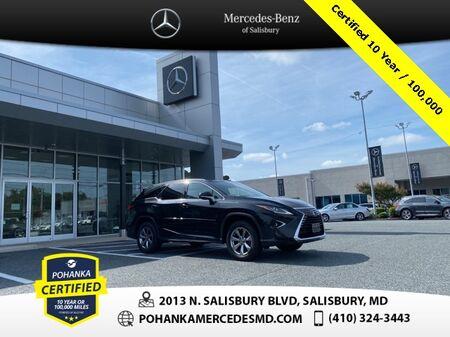 2018_Lexus_RX_350L AWD ** Pohanka Certified 10 Year / 100,000  **_ Salisbury MD