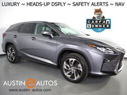 2018_Lexus_RX 350L Luxury_*HEADS-UP DISPLAY, NAVIGATION, SAFETY ALERTS, SURROUND VIEW CAMERAS, ADAPTIVE CRUISE, MARK LEVINSON, CLIMATE SEATS, SEMI-ANILINE LEATHER, LED HEADLAMPS_ Round Rock TX