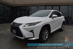 2018_Lexus_RX_450h / AWD / Power & Heated Leather Seats / Adaptive Cruise Control / Lane Departure & Blind Spot Alert / Sunroof / Bluetooth / Back Up Camera / 28 MPG / 1-Owner_ Anchorage AK