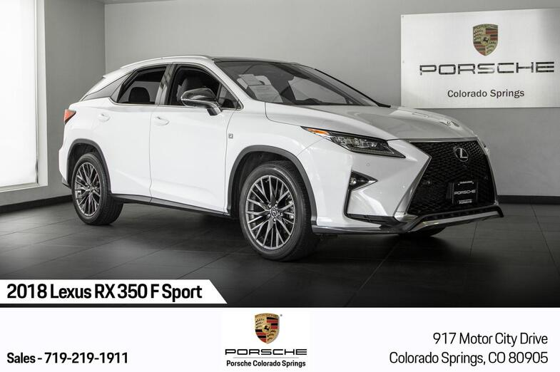 2018 Lexus RX RX 350 F Sport Colorado Springs CO