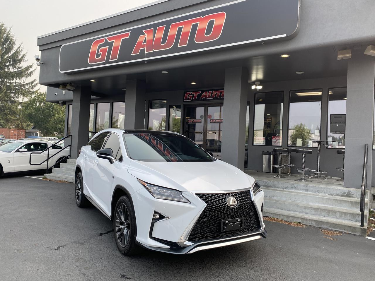2018 Lexus RX *RX 350 F Sport Heads Up Display with Mark Levinson/Navigation PKG AWD* Puyallup WA
