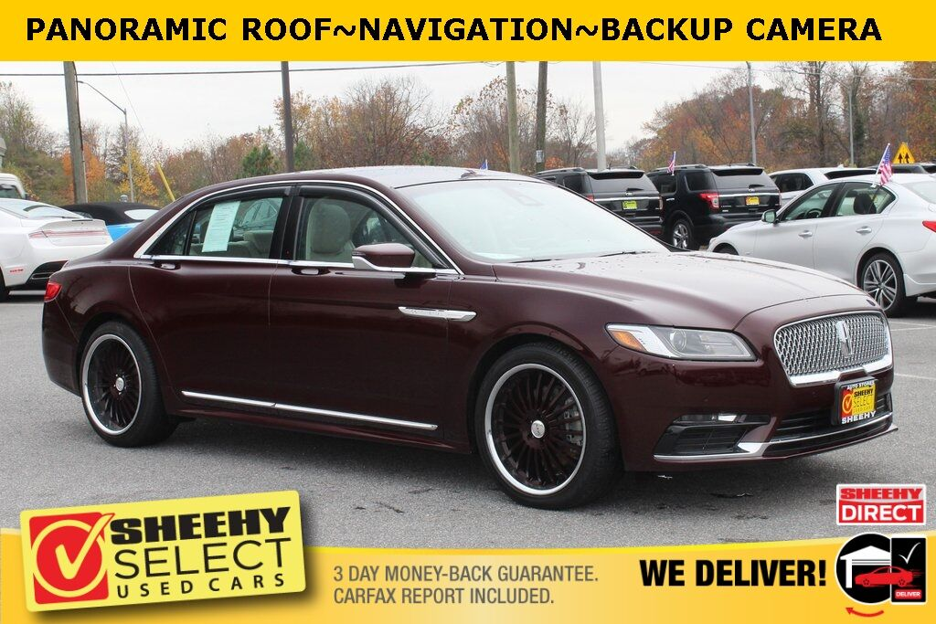 2018 Lincoln Continental Select Suitland MD