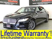 Lincoln Continental Select Navigation Panoramic Roof Blind Spot Assist Rear Cross Traffic Alert 2018