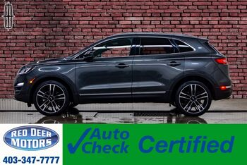 2018_Lincoln_MKC_AWD Reserve Leather Roof Nav BCam_ Red Deer AB