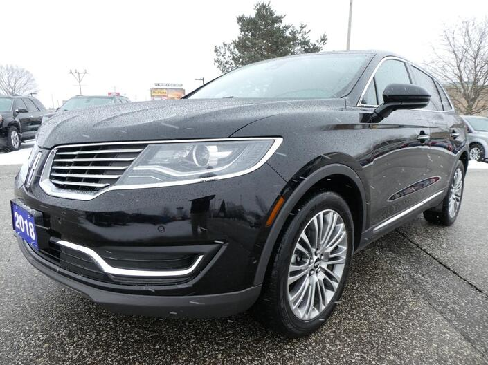 2018 Lincoln MKX Reserve | Navigation | Heated Seats | Remote Start Essex ON