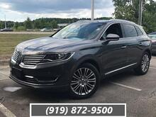 2018_Lincoln_MKX_Reserve FWD_ Cary NC